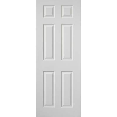 White Classic Colonist Grained - Door Size, HxW: ...