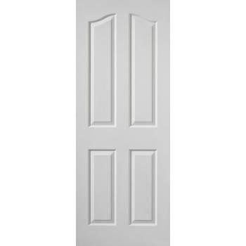 White Classic Edwardian Fire Door