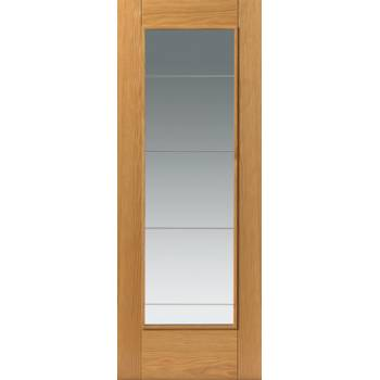 Pre Finished Contemporary Oak Medina Internal Door