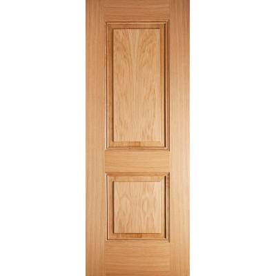 Pre-finished Oak Arnhem Internal Door Wooden Timber - Door S...