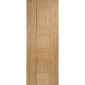 Pre-finished Oak Catalonia Fire Door