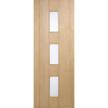 Oak Copenhagen External Door Wooden Timber