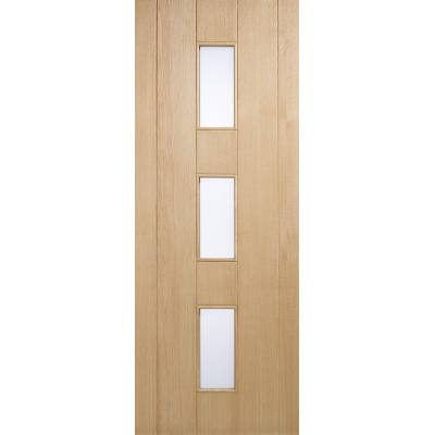 Oak Copenhagen External Door Wooden Timber - Door Size, HxW:...