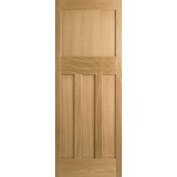 Oak DX 30's Style Internal Door Wooden Timber