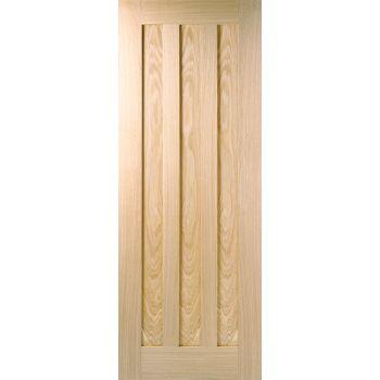 Pre-finished Oak Idaho Internal Fire Door Wooden Timber