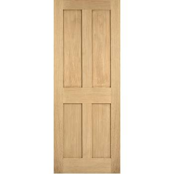 Oak London Internal Fire Door Wooden Timber