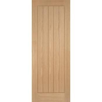 Pre-finished Oak Somerset Fire Door