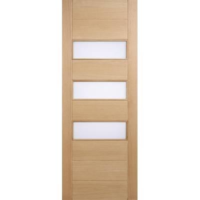 Oak Stockholm External Door Wooden Timber - Door Size, HxW: ...