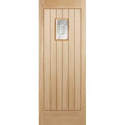 Oak Suffolk External Door Wooden Timber - Door Size, HxW: ...