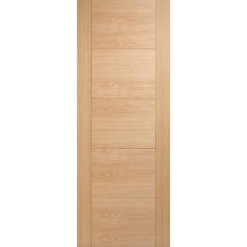 Pre-finished Oak Vancouver Internal Fire Door Wooden Timber