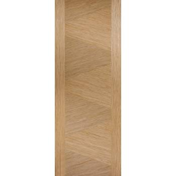Pre-finished Oak Zeus Internal Fire Door Wooden Timber