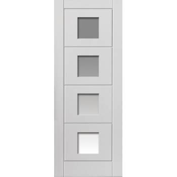 White Contemporary Quattro Glazed