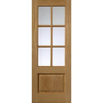 Classic Oak Dove Glazed Internal Door