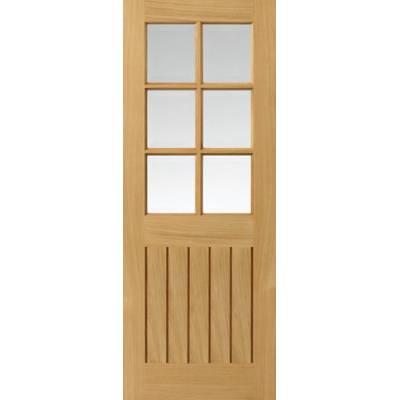 Oak Cottage Tutbury - Door Size, HxW: