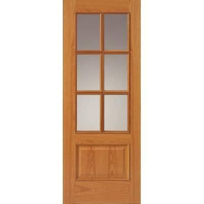 Classic Oak Royale 12-6M Oak  - Door Size, HxW: