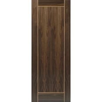 Pre Finished Walnut Vina Fire Door