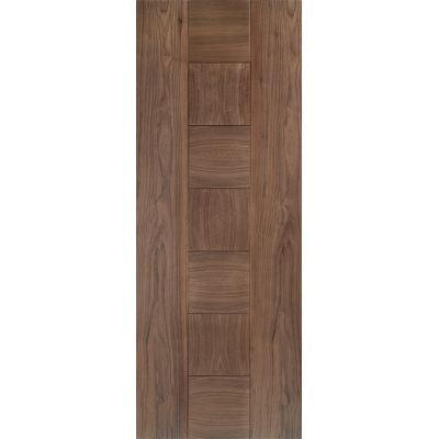 Pre-finished Walnut Catalonia Internal Fire Door Wooden Timb...