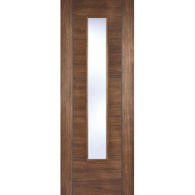 Pre-finished Vancouver Walnut Glazed Internal Door Laminate ...