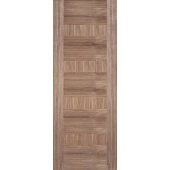 Pre-finished Walnut Monaco Internal Fire Door Wooden Timber