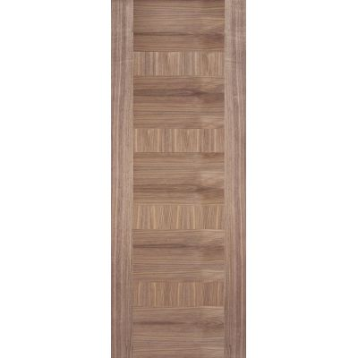 Pre-finished Walnut Monaco Internal Door Wooden Timber - Doo...