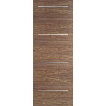 Pre-finished Walnut Murcia Internal Door Wooden Timber