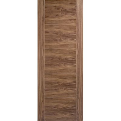 Pre-finished Walnut Vancouver Internal Fire Door Wooden Timber - Door Size, HxW: