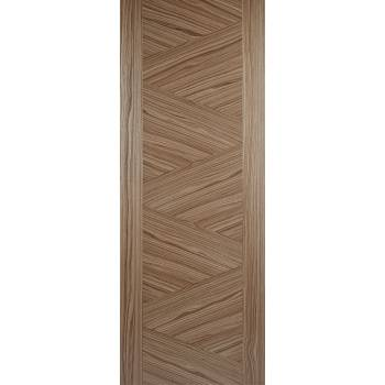Pre-finished Walnut Zeus Internal Door Wooden Timber