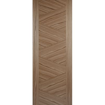 Pre-finished Walnut Zeus Internal Door Wooden Timber - Door ...