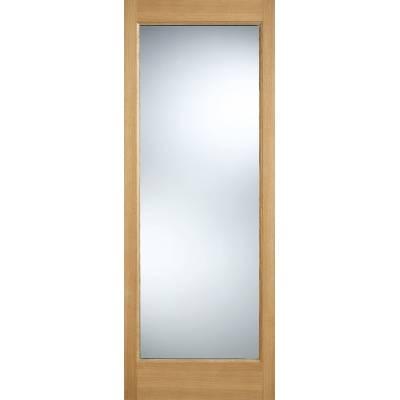 Oak Pattern 10 External Door Wooden Timber - Door Size, HxW:...