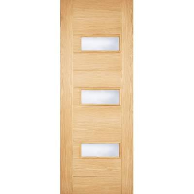 Oak Portomaso External Door Wooden Timber - Door Size, HxW: ...