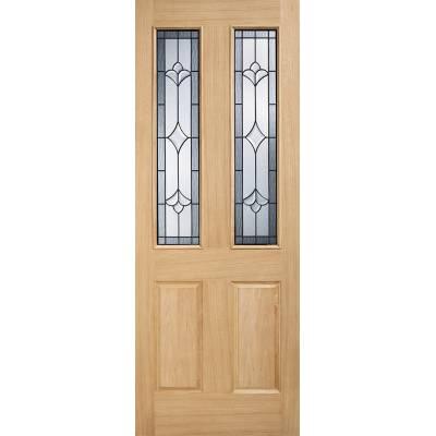 Oak Salisbury External Door Wooden Timber - Door Size, HxW: ...