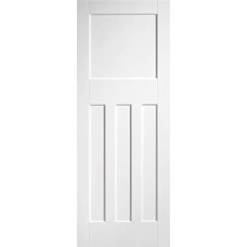 White DX 30's Style Fire Door
