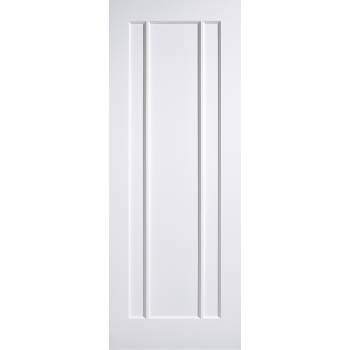 White Primed Lincoln Internal Door Wooden Timber