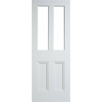 White Primed Malton Internal Door Wooden Timber