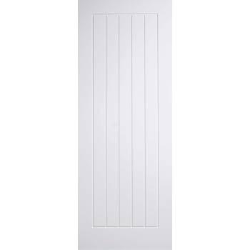 White Mexicano Fire Door