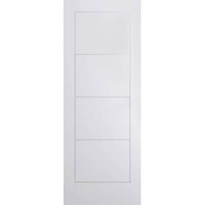 White Ladder Smooth Internal Door Wooden Timber - Door Size,...