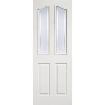 White Textured Mayfair Glazed