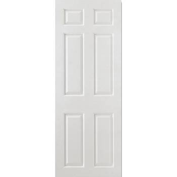 White Smooth 6 Panel Internal Door Wooden Timber