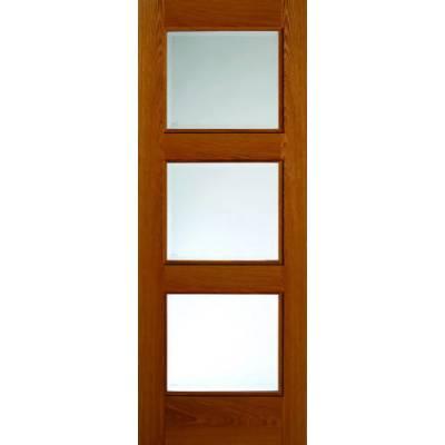 Pre finished Classic Oak Royale R03 Glazed - Door Size, HxW: