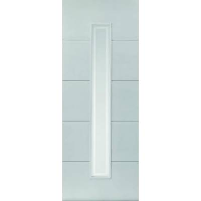 White Contemporary Dominion Fire Door - Door Size, HxW:
