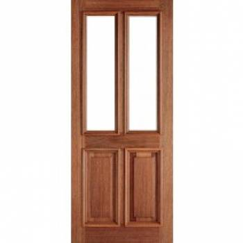 Hardwood Derby Unglazed External Door