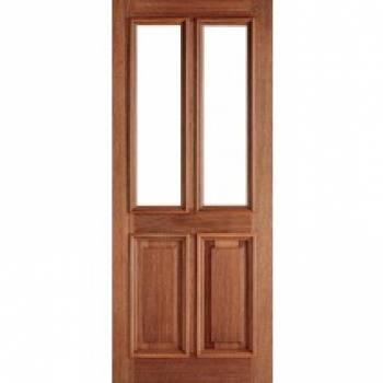 Hardwood Derby Unglazed External Door Wooden Timber - Essentials Range