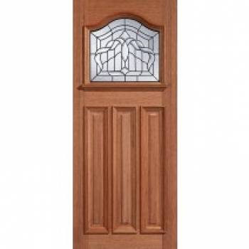 Hardwood Estate Crown External Door Wooden Timber