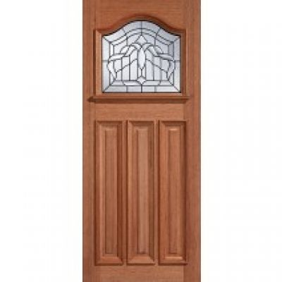 Hardwood Estate Crown External Door Wooden Timber - Door Siz...