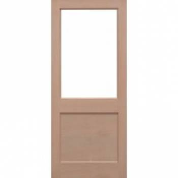 Hemlock 2XG External Door Wooden Timber - Essentials Range
