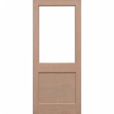 Hemlock 2XG External Door Wooden Timber - Essentials Range -...