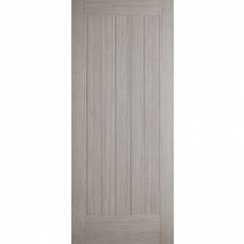 Pre-finished Somerset Light Grey Internal Fire Door Wooden Timber