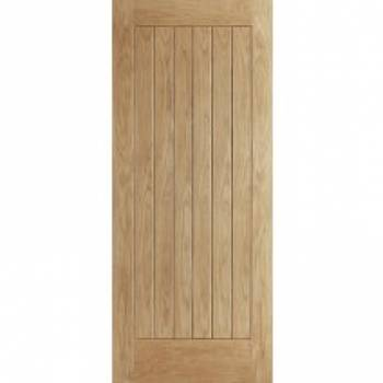 Oak Norfolk External Door Wooden Timber