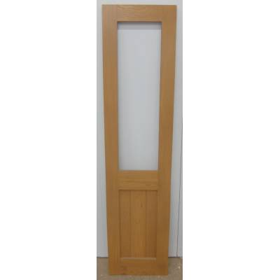 Pre-finished Oak Wooden Door Timber Unglazed Door Cabinet Si...