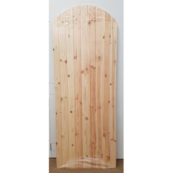 Arched LB 78x36 Ledged and Braced Softwood Gate Timber Wooden